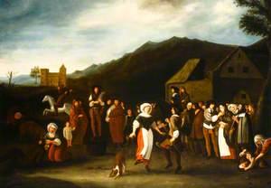 The Village Dance (Penny Wedding)