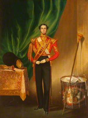 Drum Major Alexander Kerr