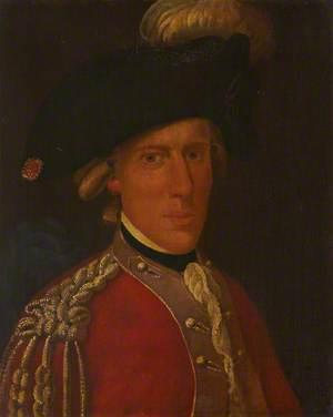 Lieutenant John Turnbull in the Uniform of the Scots Brigade
