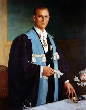HRH Prince Philip (b.1921), Duke of Edinburgh, College Patron (1955)