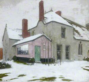 Sutton Veny in Snow