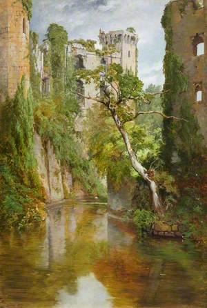 Raglan Castle, the Moat