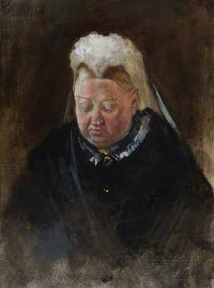 Sketch of Queen Victoria (1819–1901)