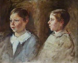 Sketch of Prince Alexander of Battenberg (1886–1960)