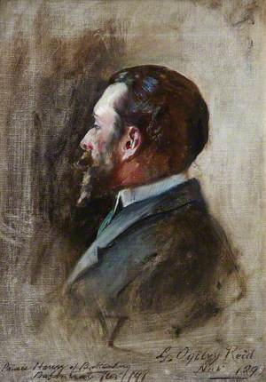 Sketch of Prince Henry of Battenberg (1858–1896)