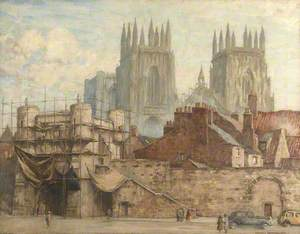 Approach to York Minster