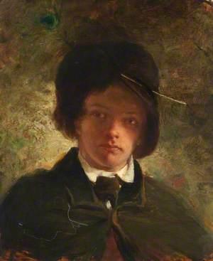 Alexander Fraser (1828–1899), RSA, as a Young Man