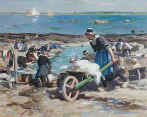 A Breton Washing Pool