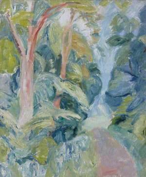 Woodland Landscape in Summer