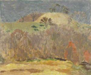 Landscape with Scrub Trees