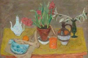 Eastern Pot and Hyacinth II