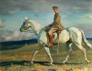 'Grey Lady' Riden by Sir Eric Bonham