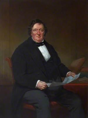 Joseph Grant, WS, Seated at a Desk