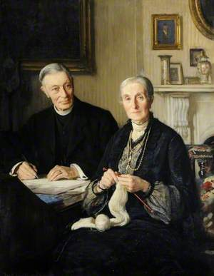 Canon Fisher and His Wife
