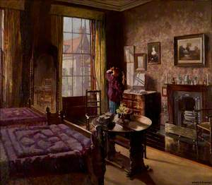 Bedroom with a Figure, Bar House, Beverley, East Riding of Yorkshire
