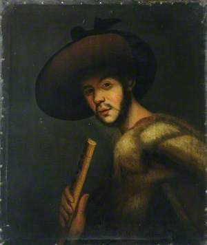 Shepherd with a Pipe