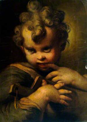 Infant Saint John the Baptist