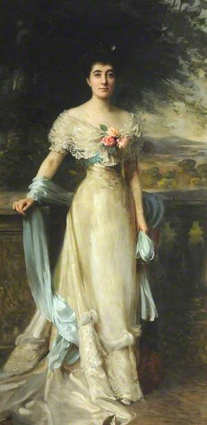 Mrs Hanly, Mother of Gladys Consuelo Chichester Constable