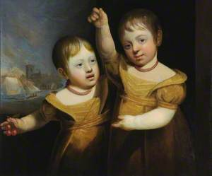 The Twin Children of Captain George Walsh