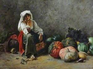 A Roman Fruitseller