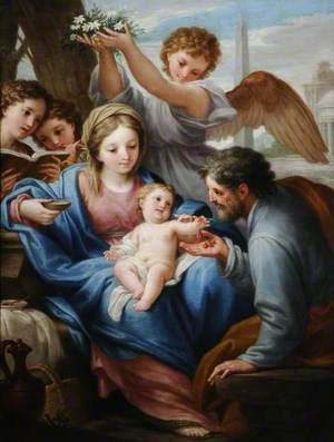 Virgin and Child with St Joseph
