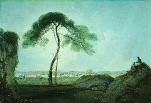 Italian Landscape with a Stone Pine