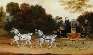 'The Wellington Coach' (The Newcastle-York-London Mail)