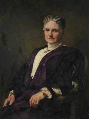 Portrait of a Lady in Purple