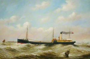 SS 'Freighter' of Newcastle