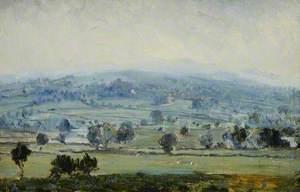 Middleham Castle from Spennithorne, North Yorkshire