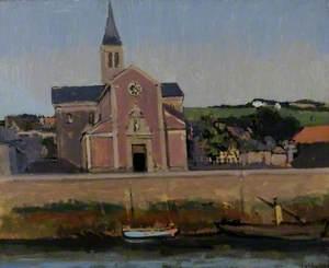 L'église du Pollet, Dieppe, France