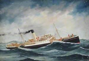 SS 'Rievaulx Abbey' (Foul Weather)