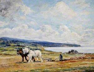 Ploughing near Dotterell, North Yorkshire