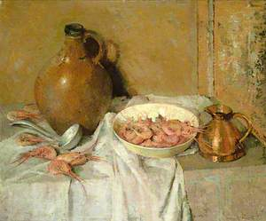 Still Life with Prawns