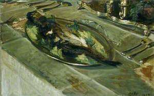 Still Life: Fish on a Silver Plate