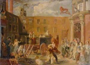 The 'Red Lion' Inn