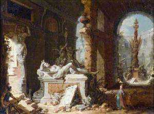 Capriccio Interior with Ruins