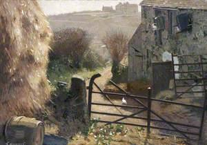 Farm Scene, St Ives, Cornwall