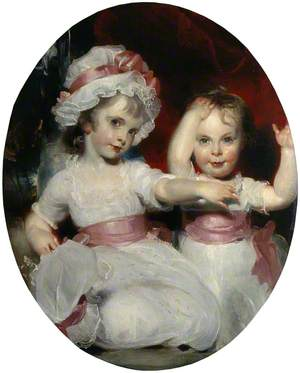 Emily and Harriet Lamb as Children