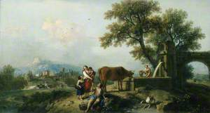 Pastoral Scene with Cowherds