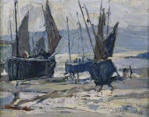 Fishing Boats on the Sands
