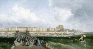 Brighton, East Sussex, from the West Pier