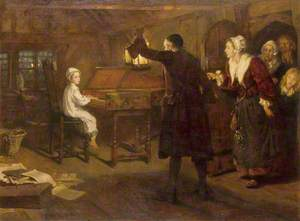 The Child Handel, Discovered by His Parents