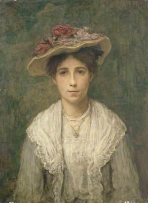 Girl in a Flowery Hat