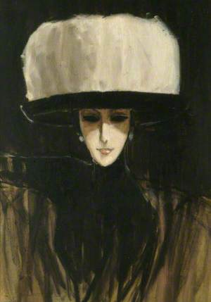 Girl in a Swansdown Hat