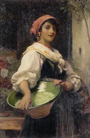 A Venetian Market Girl