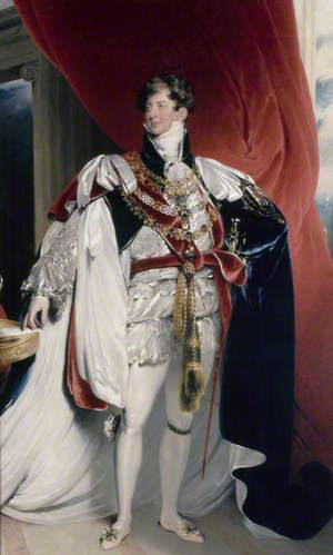 George IV (1762–1830), Standing, in Garter Robes, 'Coronation Portrait'