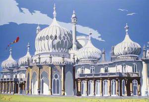 The Royal Pavilion, Brighton, East Sussex