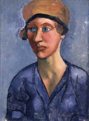 Girl in a Cloche Hat