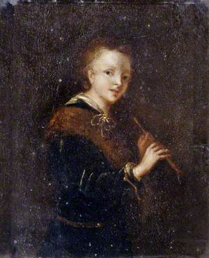 Woman with a Flute